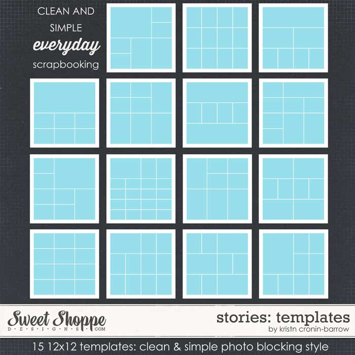 Stories: Templates by Kristin Cronin-Barrow
