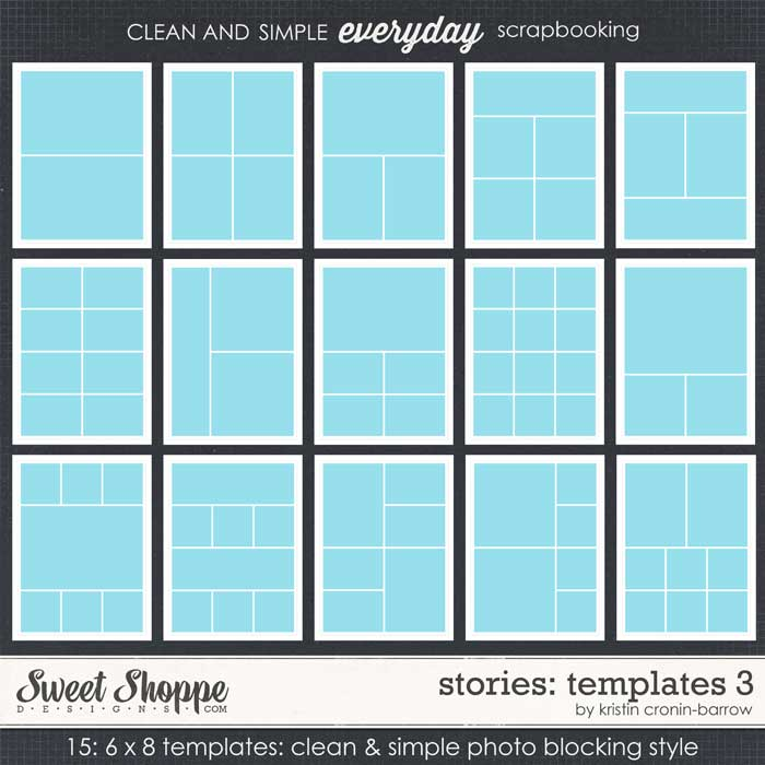 Stories: Templates 3 by Kristin Cronin-Barrow