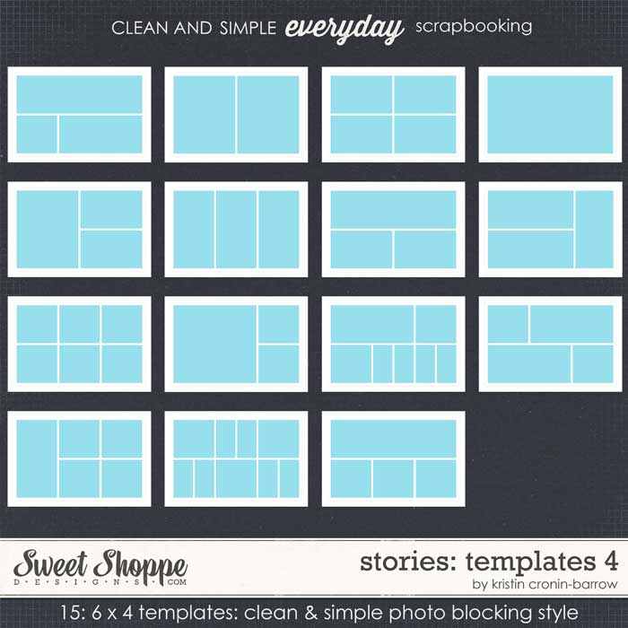 Stories: Templates 4 by Kristin Cronin-Barrow