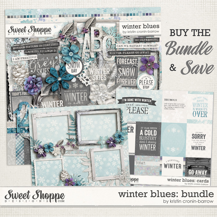 Winter Blues: Bundle by Kristin Cronin-Barrow