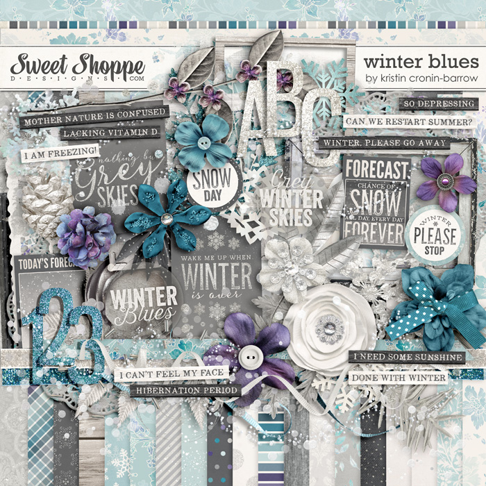Winter Blues: Kit by Kristin Cronin-Barrow