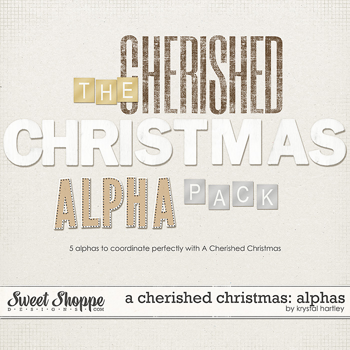 A Cherished Christmas: Alphas by Krystal Hartley