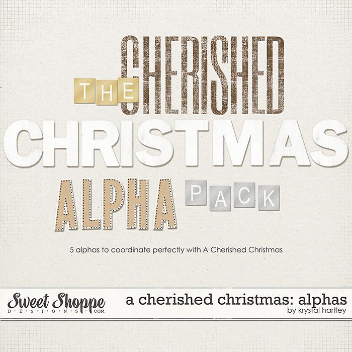 A Cherished Christmas: Alphas by Krystal Hartley