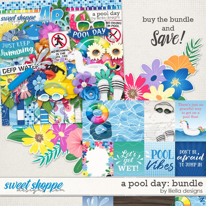 A Pool Day Bundle by lliella designs