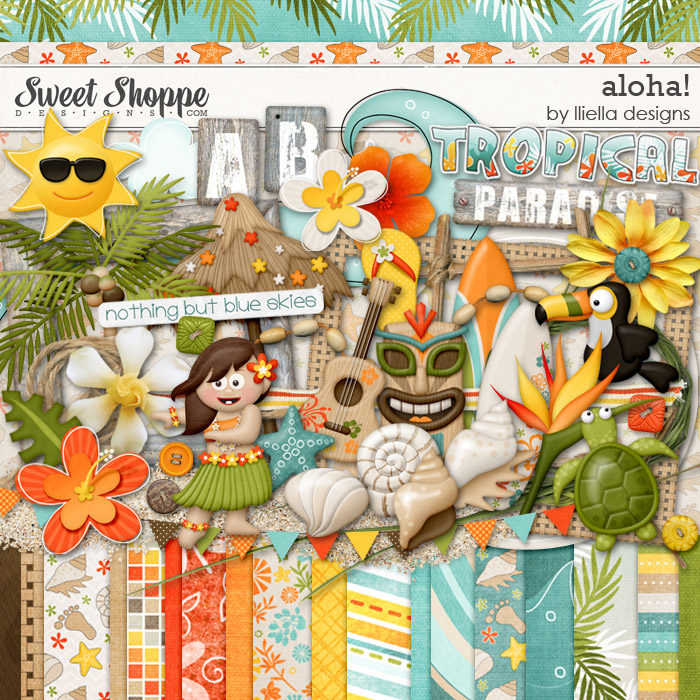 Aloha! by lliella designs