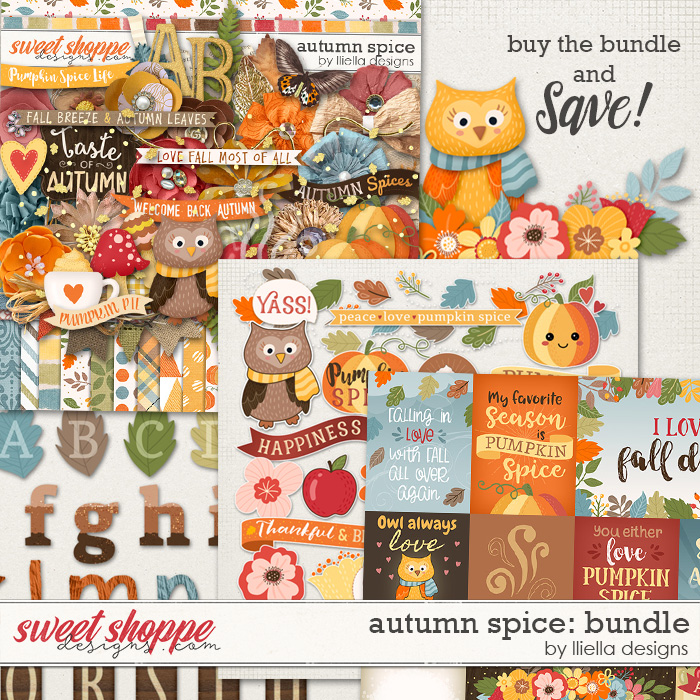 Autumn Spice Bundle by lliella designs