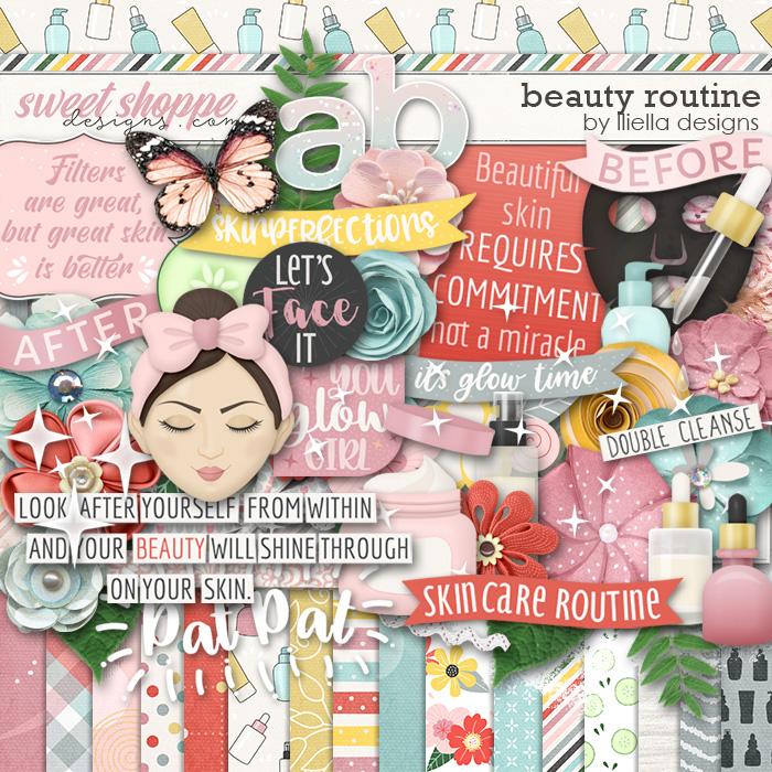 Beauty Routine by lliella designs