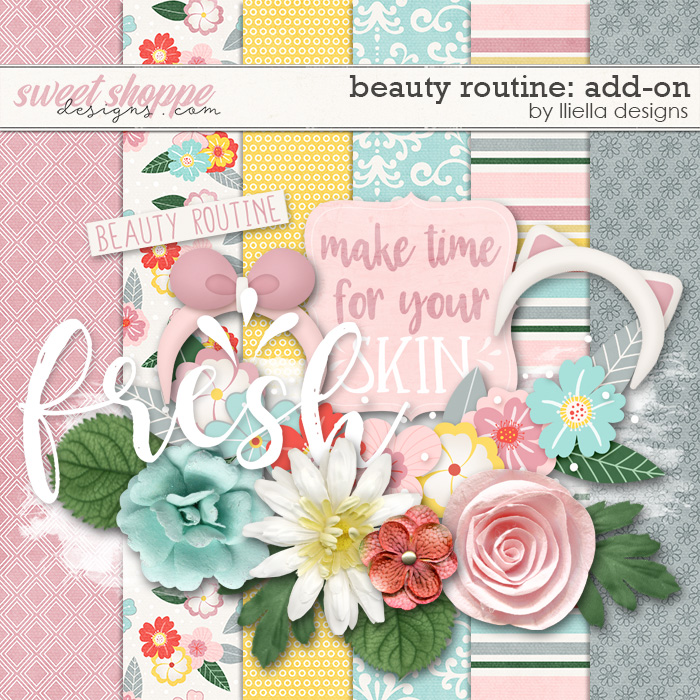 Beauty Routine: Add On by lliella designs