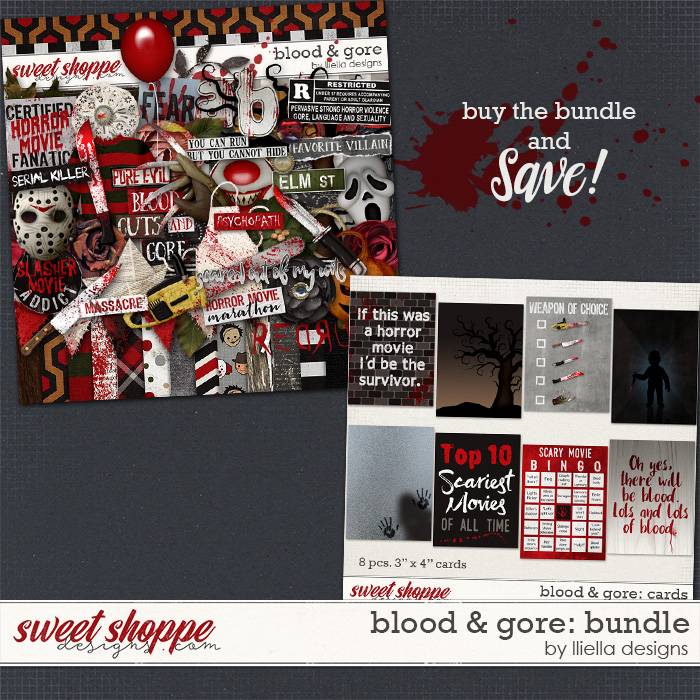 Blood & Gore: Bundle by lliella designs