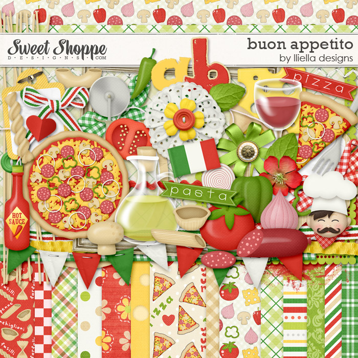 Buon Appetito by lliella designs