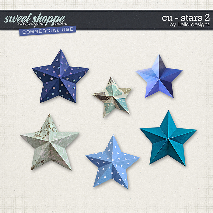 CU - Stars 2 by lliella designs