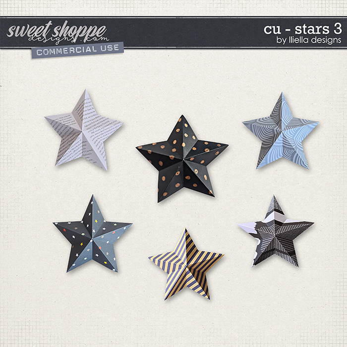 CU - Stars 3 by lliella designs