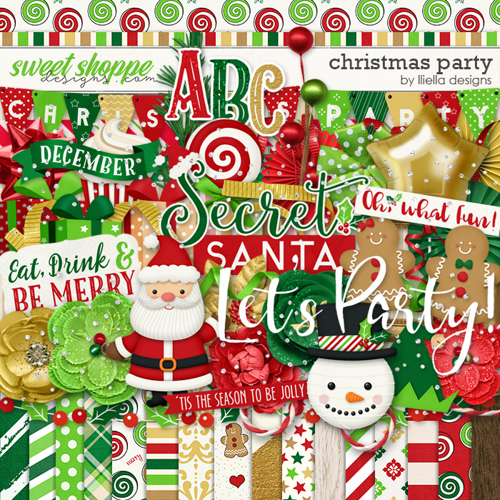 Christmas Party by lliella designs