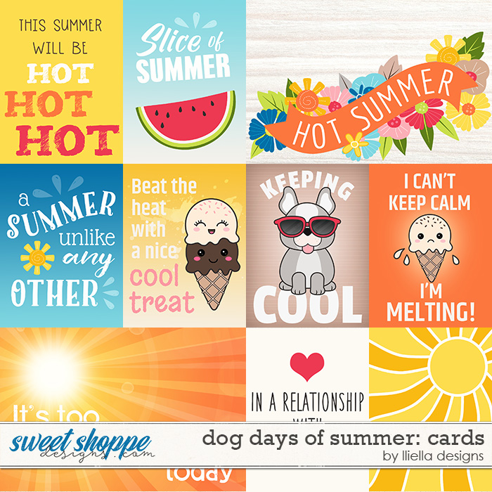Dog Days of Summer Cards by lliella designs