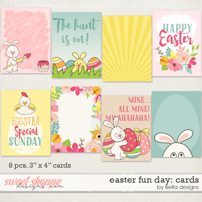 Easter Fun Day: Cards by lliella designs