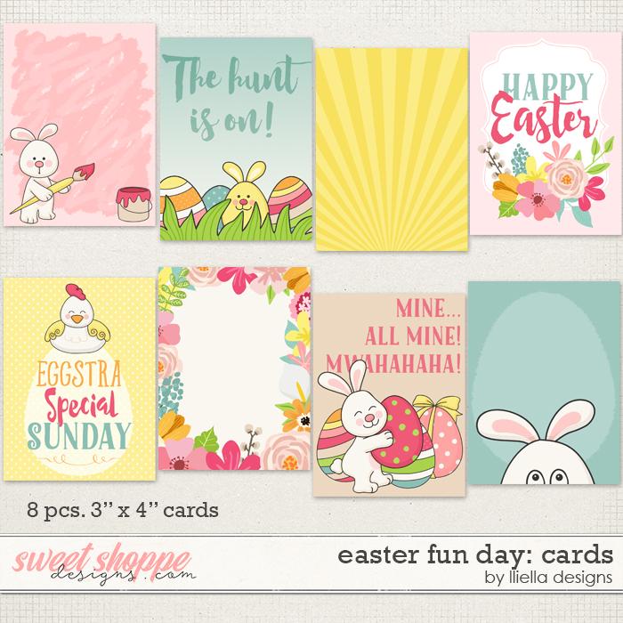 Easter Fun Day: Cards by lliella designs