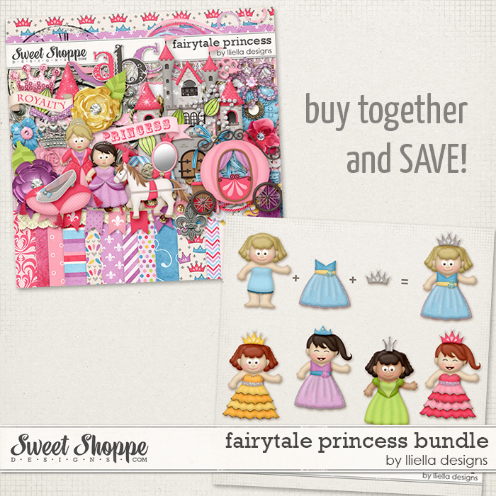 Fairytale Princess Bundle by lliella designs