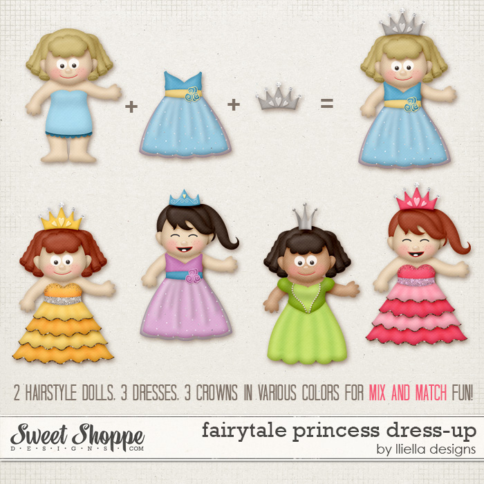 Fairytale Princess Dress-Up by lliella designs