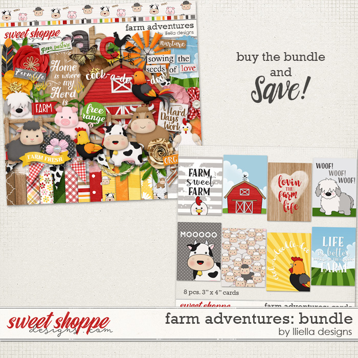 Farm Adventures: Bundle by lliella designs