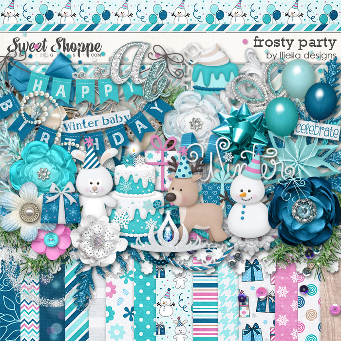 Frosty Party by lliella designs