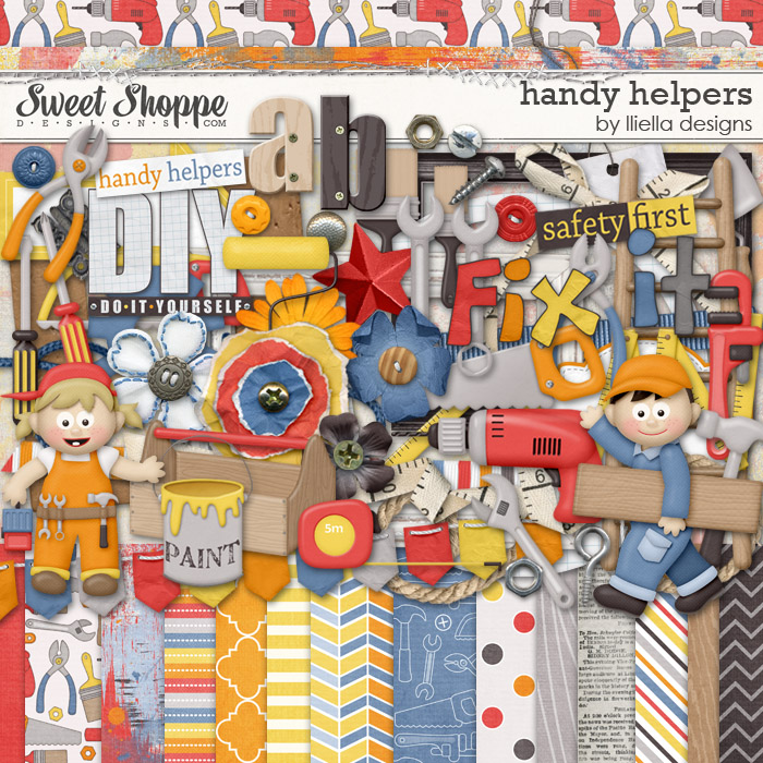 Handy Helpers by lliella designs