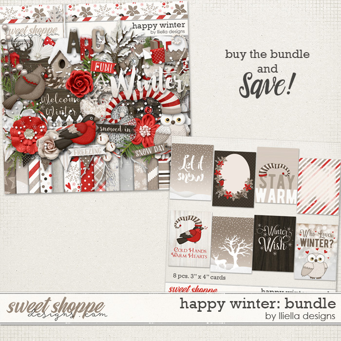 Happy Winter: Bundle by lliella designs