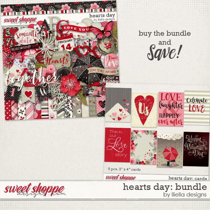 Hearts Day: Bundle by lliella designs