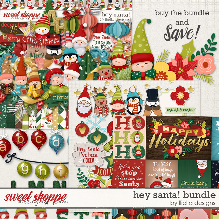Hey Santa! Bundle by lliella designs