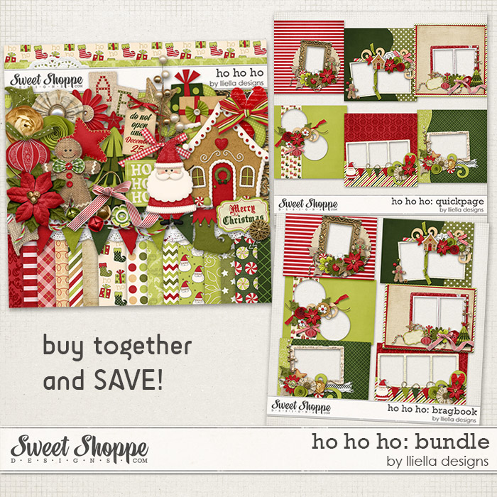 Ho Ho Ho: Bundle by lliella designs