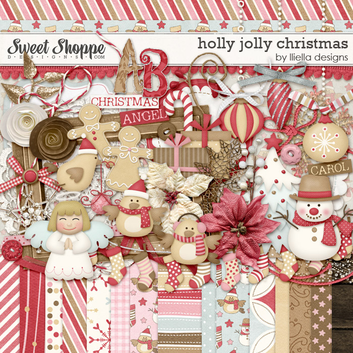 Holly Jolly Christmas by lliella designs