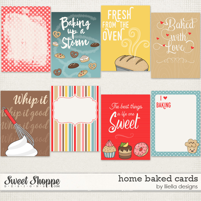 Home Baked Cards by lliella designs