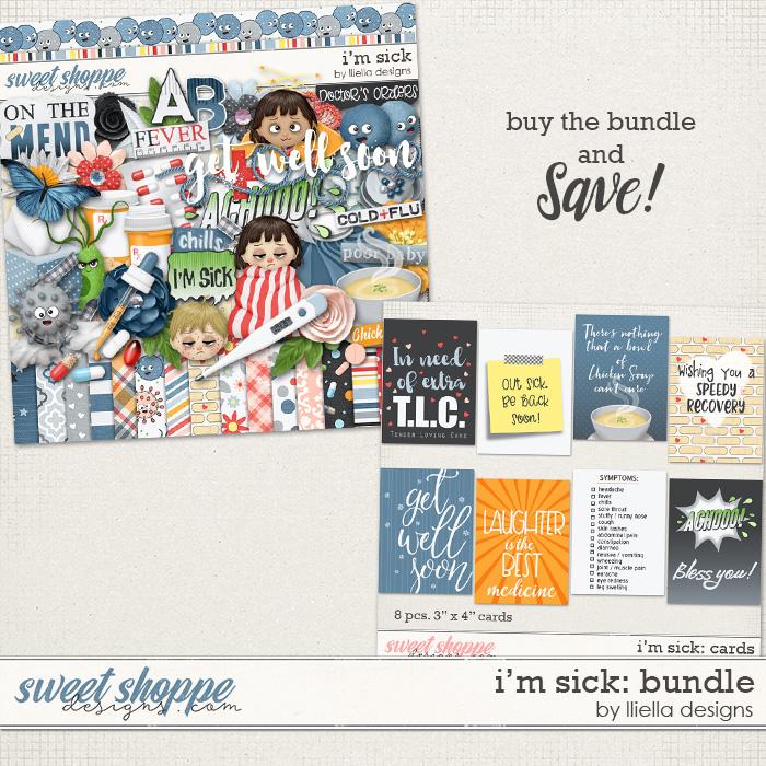 I'm Sick: Bundle by lliella designs