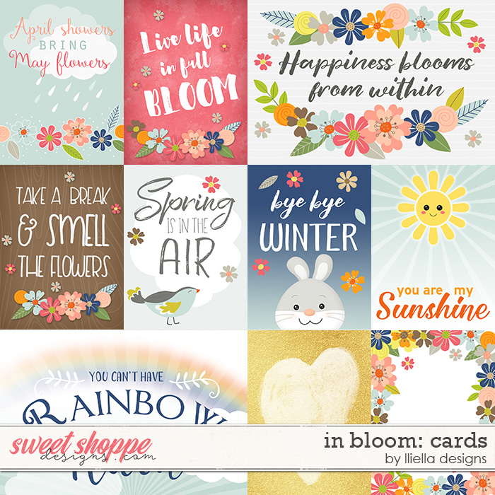 In Bloom: Cards by lliella designs