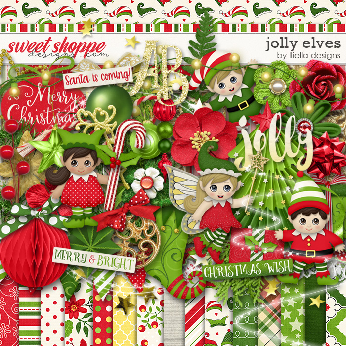 Jolly Elves by lliella designs