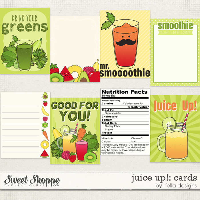 Juice Up! Cards by lliella designs