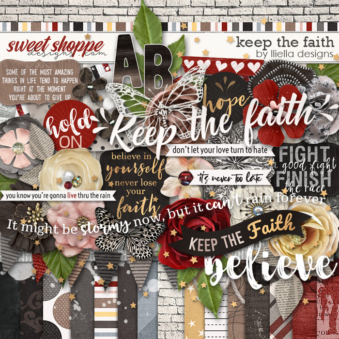 *FREE with your $10 Purchase* Keep the Faith by lliella designs