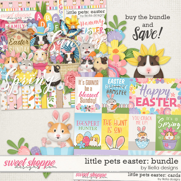 Little Pets Easter Bundle by lliella designs