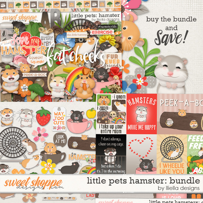 Little Pets Hamster Bundle by lliella designs