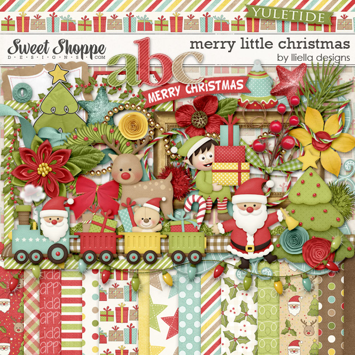 Merry Little Christmas by lliella designs