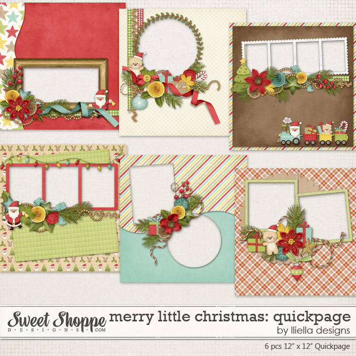 Merry Little Christmas: Quickpage by lliella designs