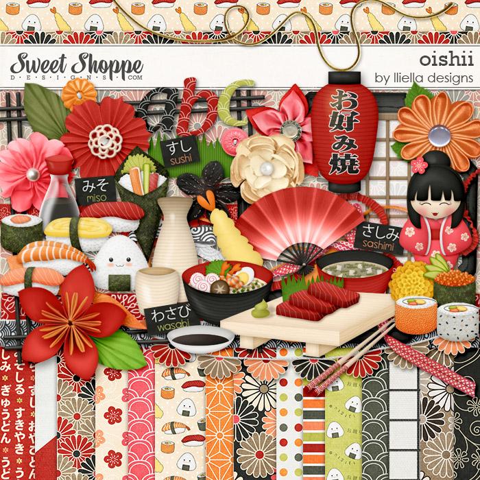 Oishii by lliella designs