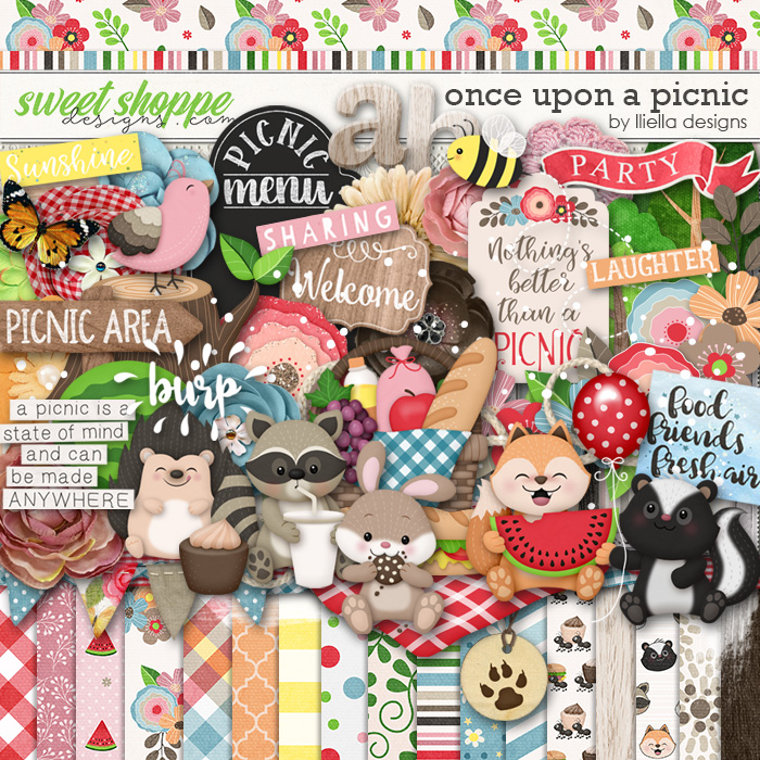 Once Upon A Picnic by lliella designs