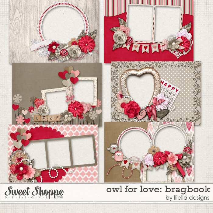 Owl For Love: Bragbook by lliella designs