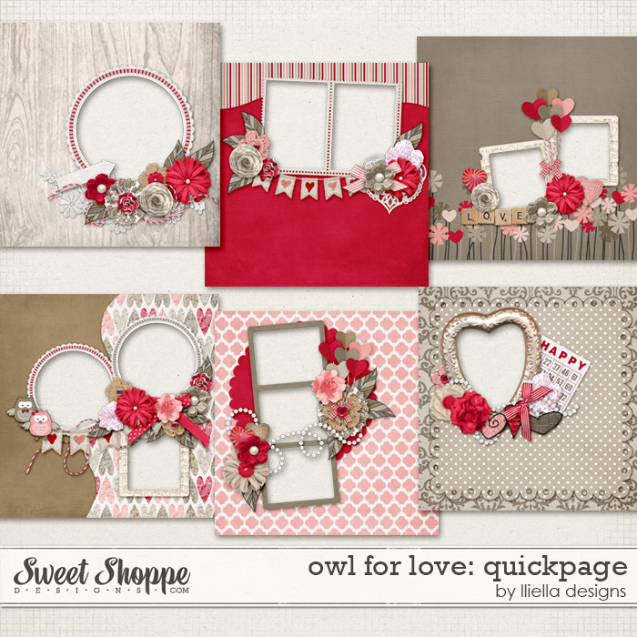 Owl For Love: Quickpage by lliella designs