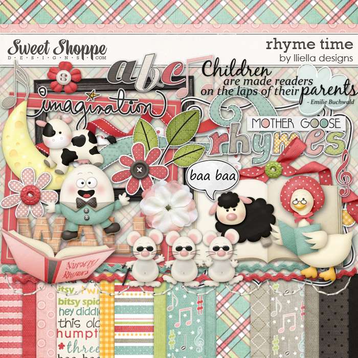 Rhyme Time by lliella designs