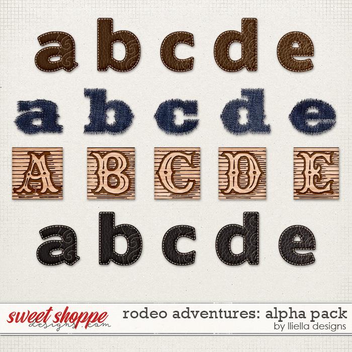 Rodeo Adventures Alpha Pack by lliella designs