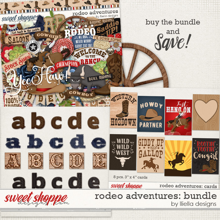 Rodeo Adventures: Bundle by lliella designs