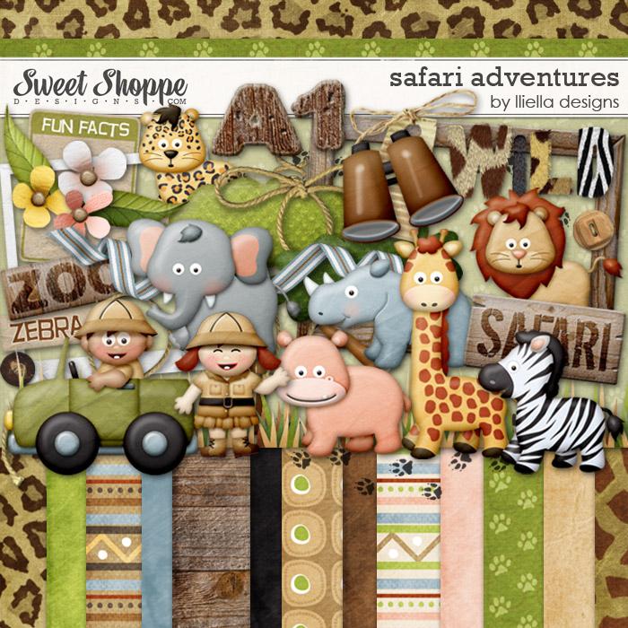 Safari Adventures by lliella designs
