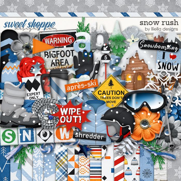 Snow Rush by lliella designs