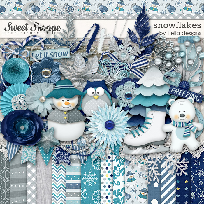 Snowflakes by lliella designs